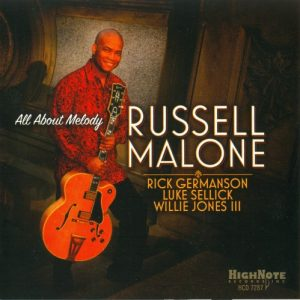 Russell Malone - All About Melody (2016)