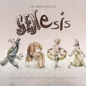 VA - The Many Faces Of Genesis - A Journey Through The Inner World Of Genesis (2CD, 2015)