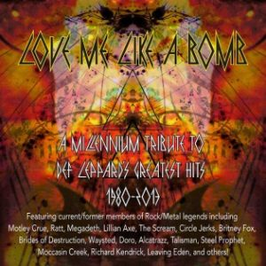 Various Artist - Love Me Like A Bomb - A Millennium Tribute To Def Leppard (2014)