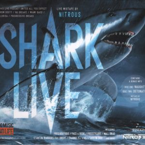 Shark - Live mix By Nitrous (2CD, digipak)